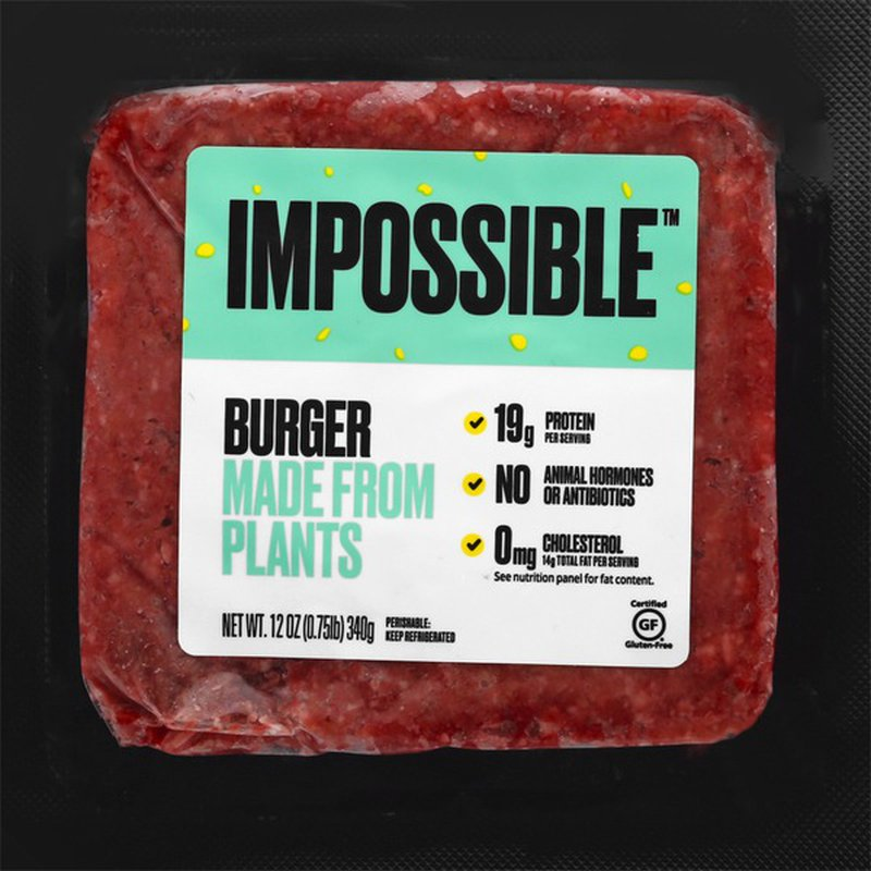 Burger, Made from Plants