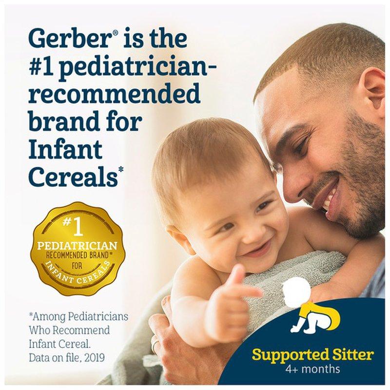 Gerber Single-Grain Rice Baby Cereal (8 oz) - Instacart
