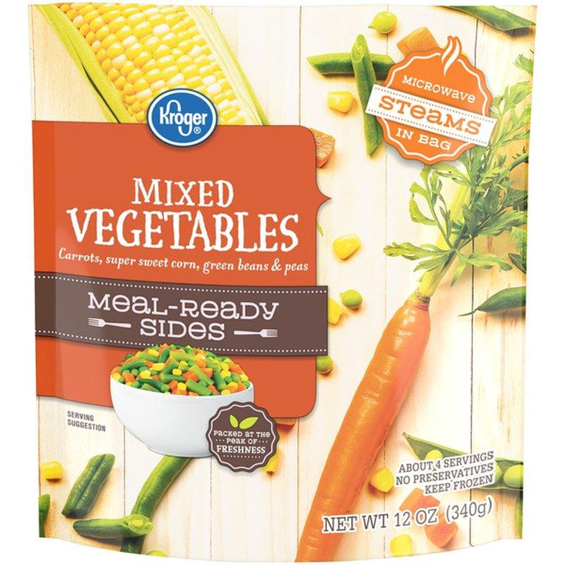 Kroger Mixed Vegetables