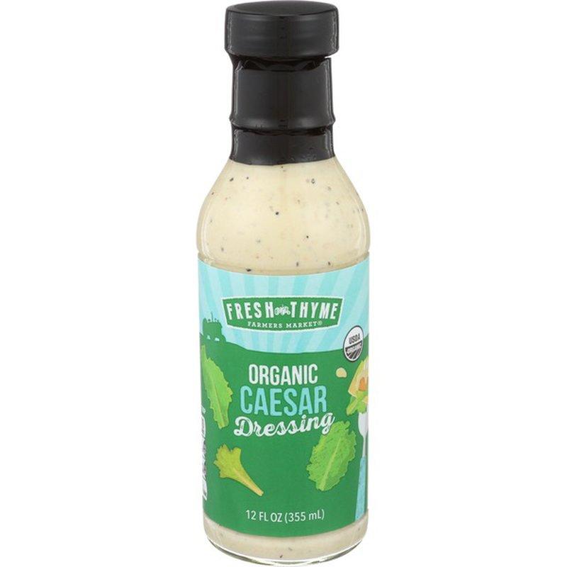 Fresh Thyme Organic Caesar Dressing