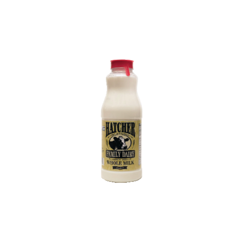 Hatcher Family Dairy All Natural Whole Milk