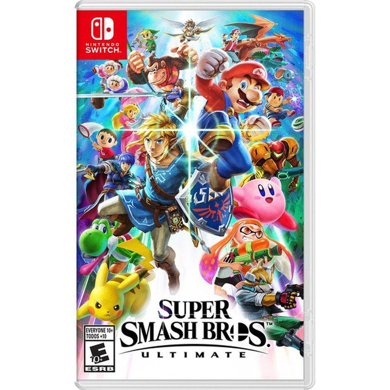Nintendo Super Smash Bros. Standard Edition Video Game for Nintendo Switch