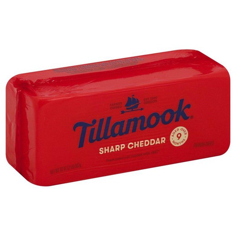 Tillamook Cheese, Sharp Cheddar (2 lb) - Instacart