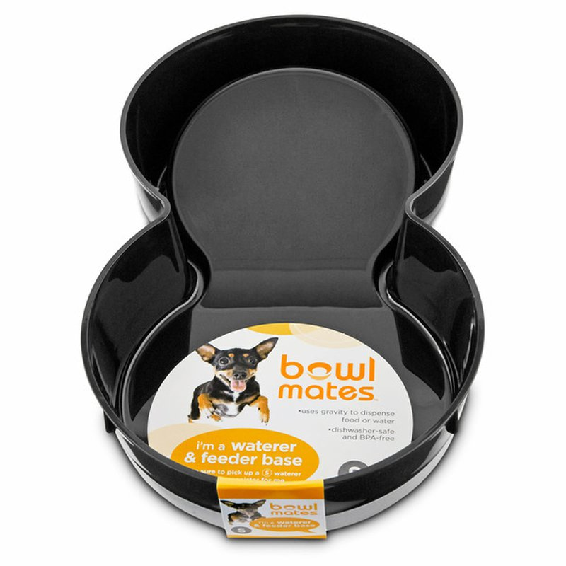 Petco Bowlmates By Petco Small Black Base For Gravity Feeder Or Waterer