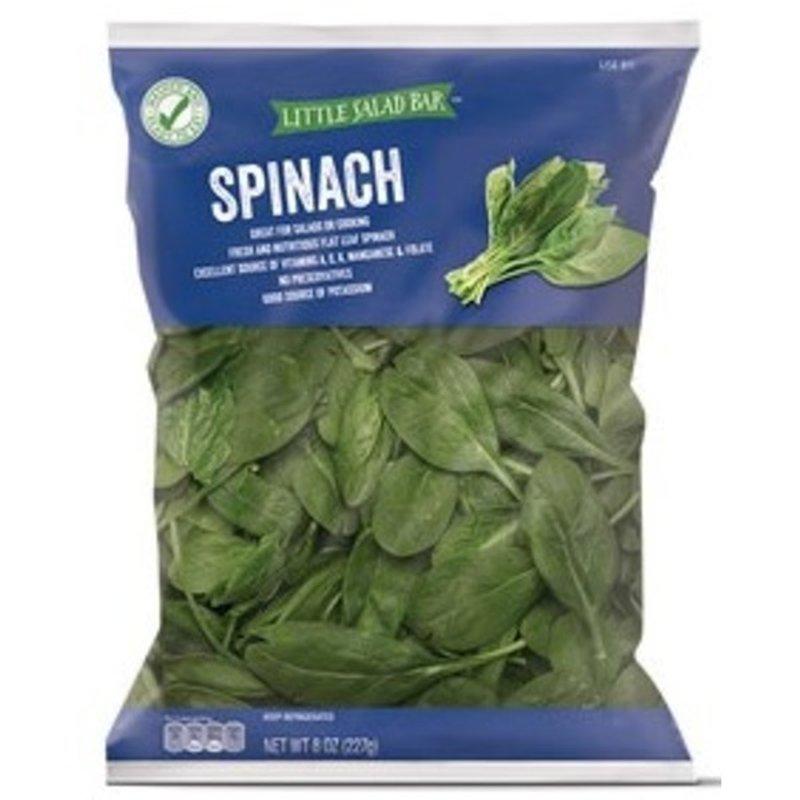 Little Salad Bar Flat Leaf Spinach