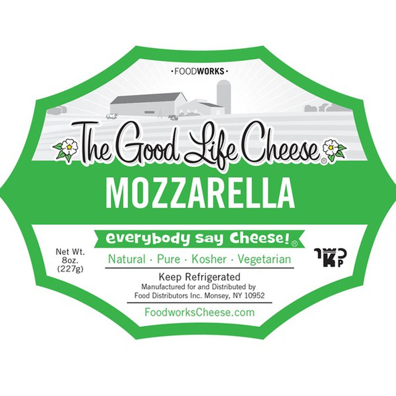 Foodworks The Good Life Cheese Mozzarella Cheese