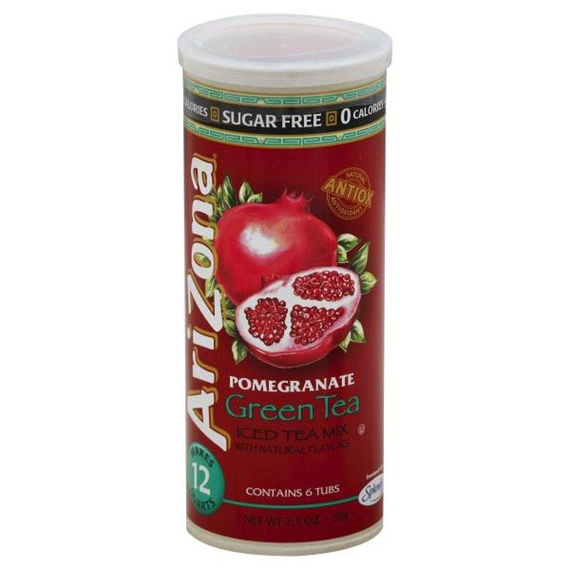 Arizona Sugar Free Pomegranate Green Tea Iced Tea Mix