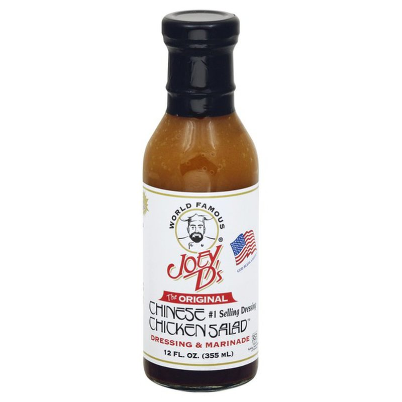 Joey Ds Dressing & Marinade, The Original, Chinese Chicken Salad