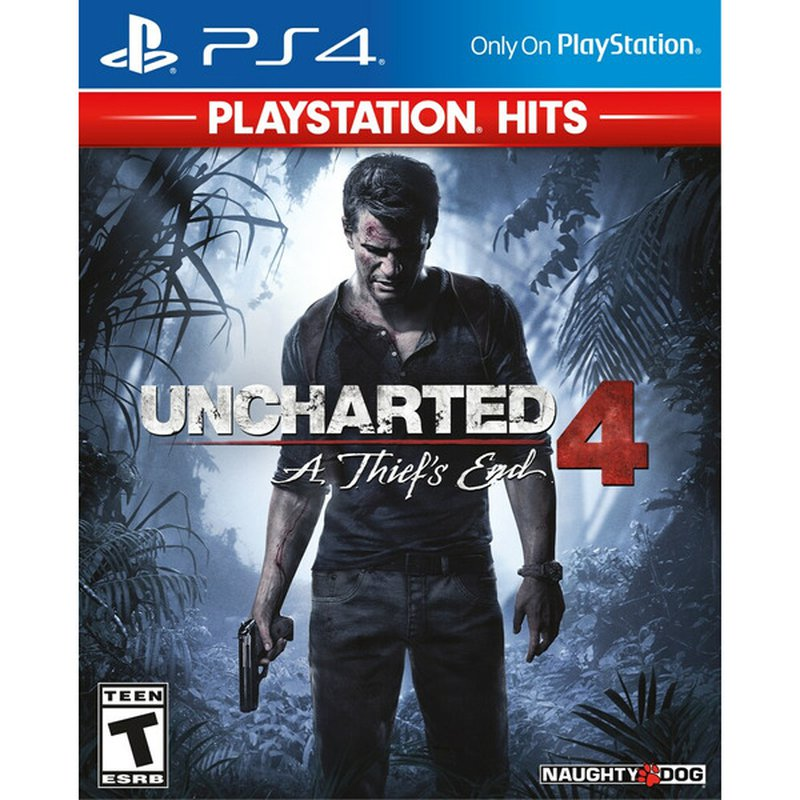 Sony PlayStation Hits Uncharted 4 A Thief's End for PlayStation 4