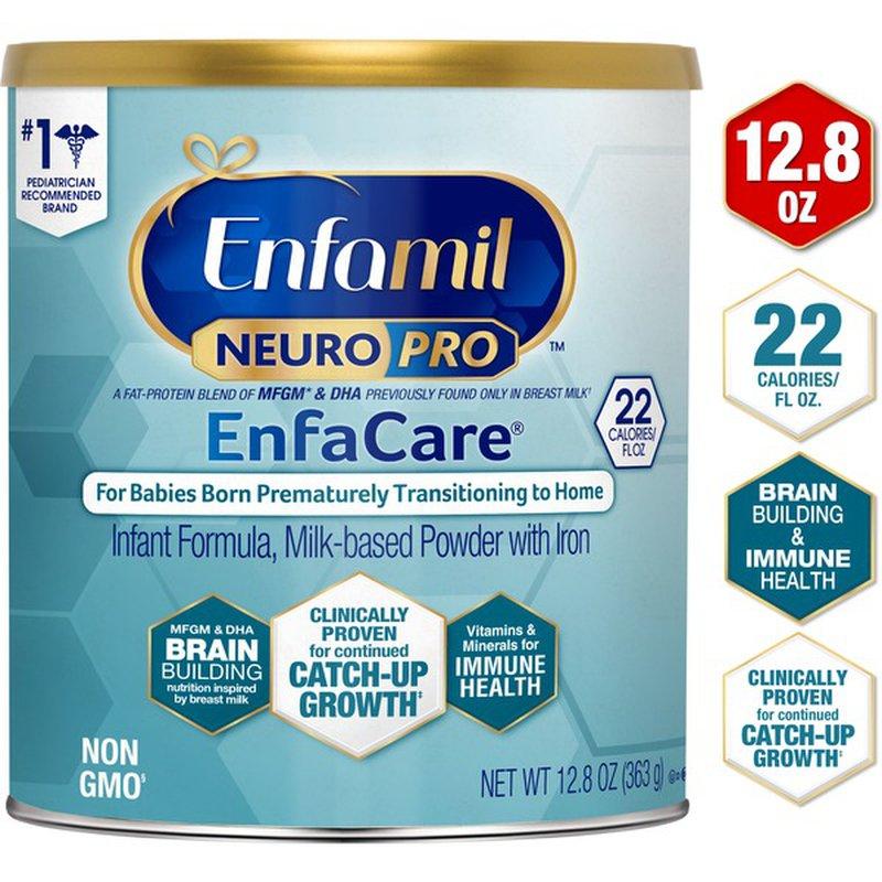 Enfamil® NeuroPro EnfaCare Premature Baby Formula Powder ...