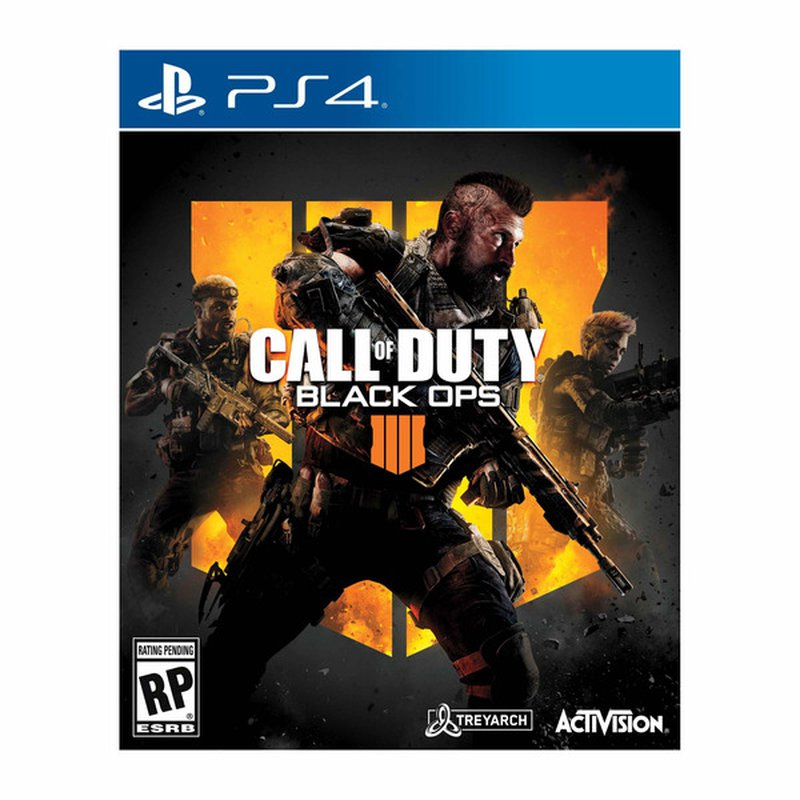 Activision Call of Duty Black Ops 4 Sony PlayStation 4 Video Game