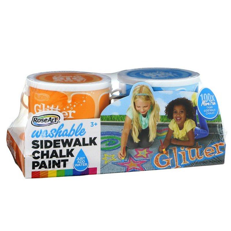 Mattel Washable Glitter Sidewalk Chalk Paint