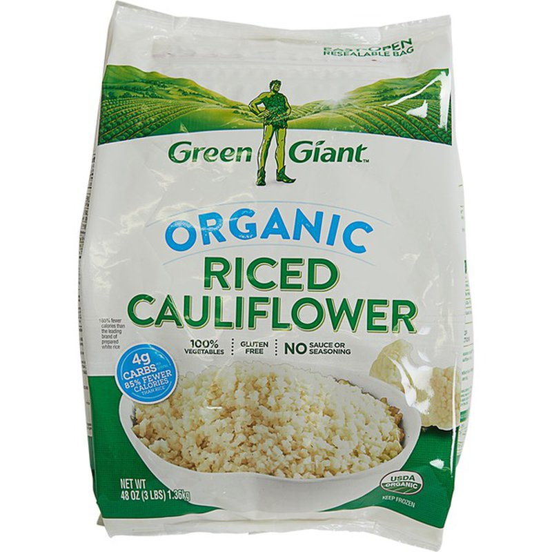 Green Giant Organic Riced Cauliflower 48 oz