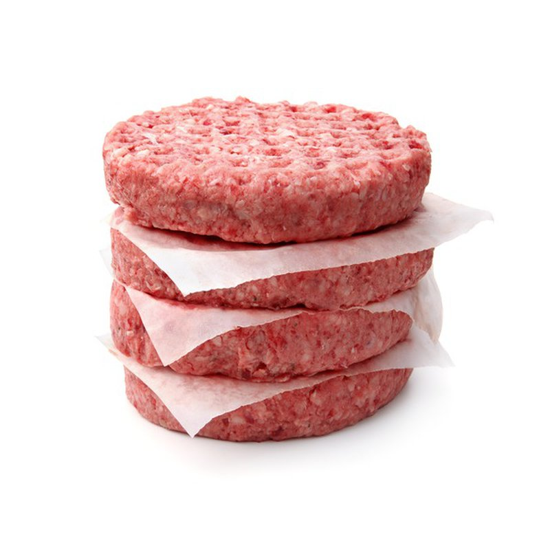 80% Ground Beef Patties