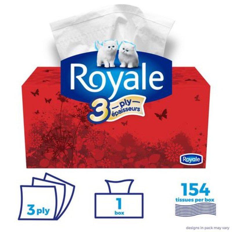 Royale 3-Ply Facial Tissue