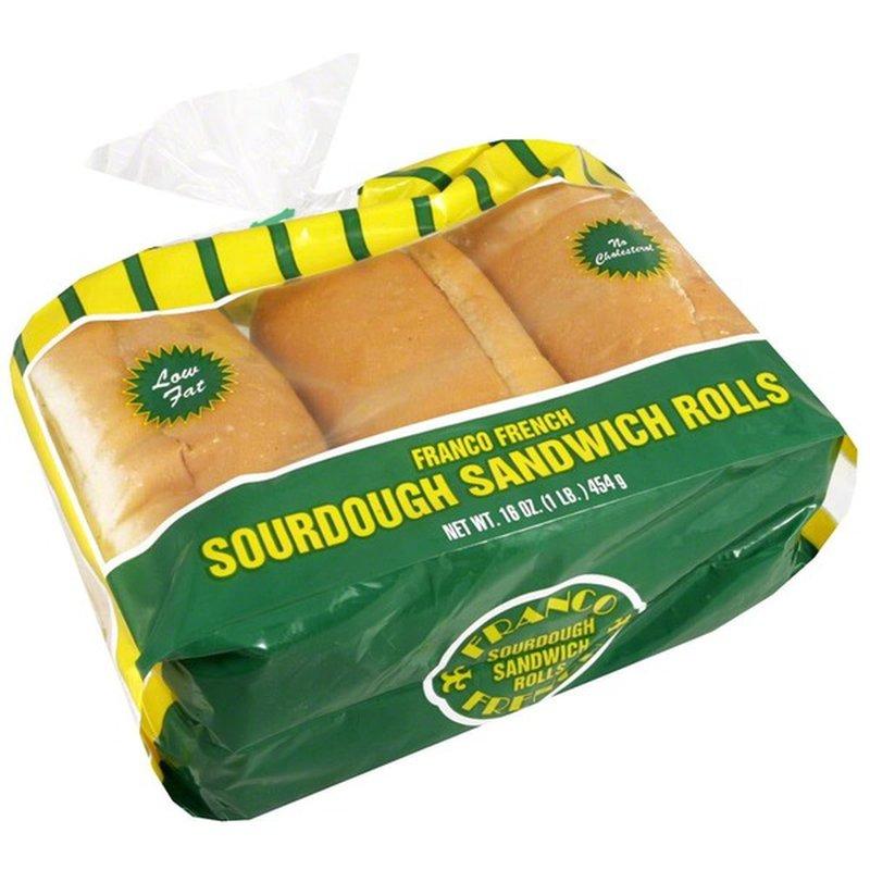 Franco Baking Company Sourdough Sandwich Rolls