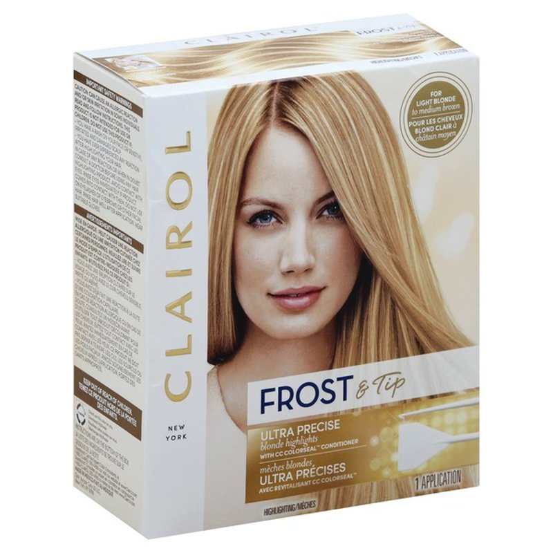 Clairol Frost Tip Blonde Highlights 1 Ct Instacart