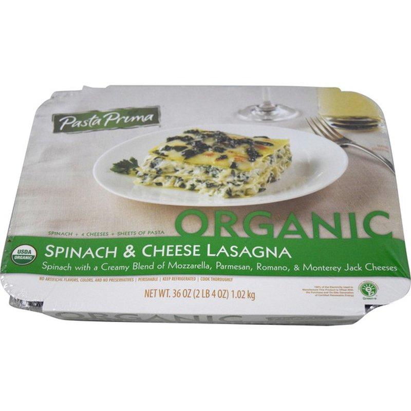 Pasta Prima Spinach And Cheese Lasagna