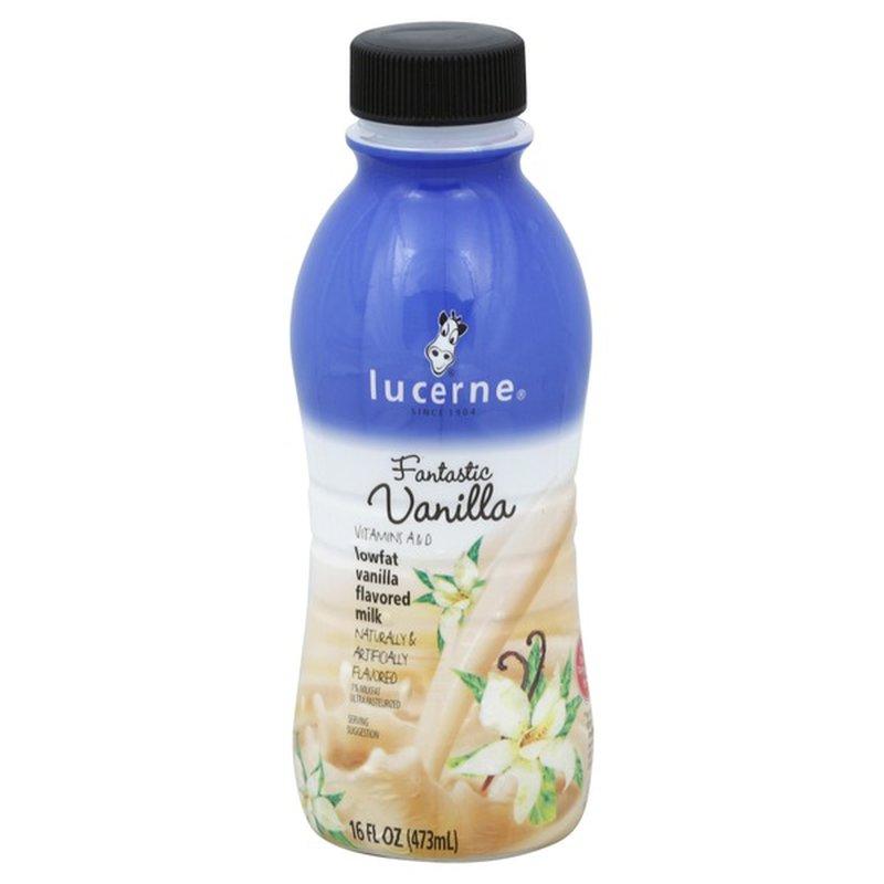 Lucerne Vanilla Lowfat Milk