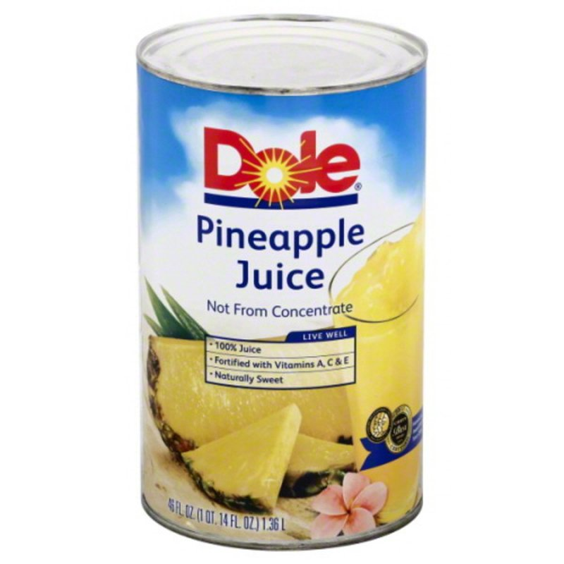 Dole 100% Pineapple Juice