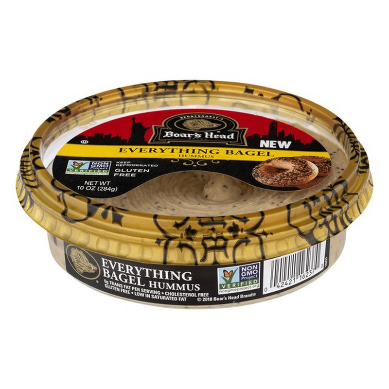 Boar's Head Hummus Everything Bagel