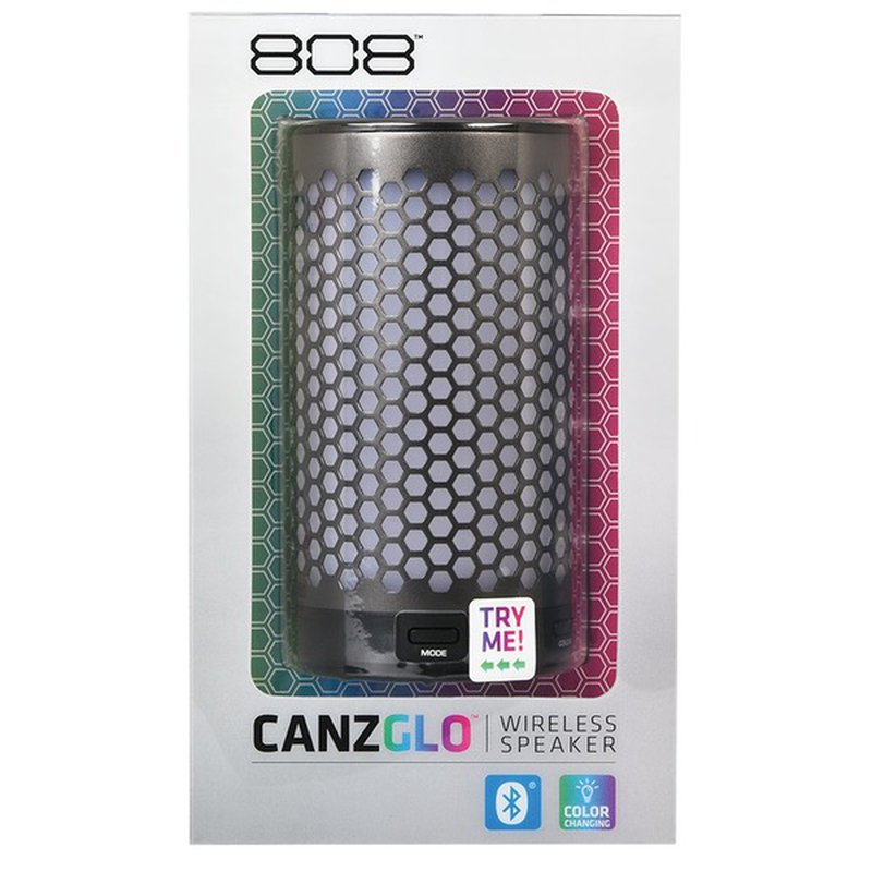 808 Audio Canz Glo Wireless Bluetooth Speaker