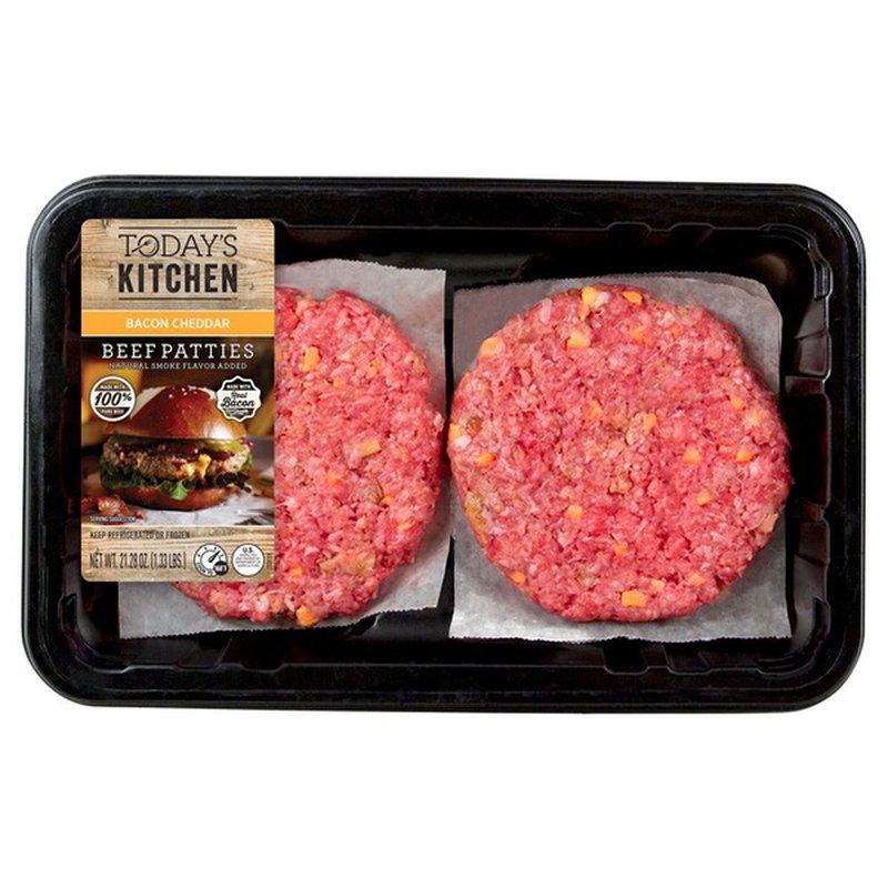 Cargill Bacon Cheddar Beef Patties