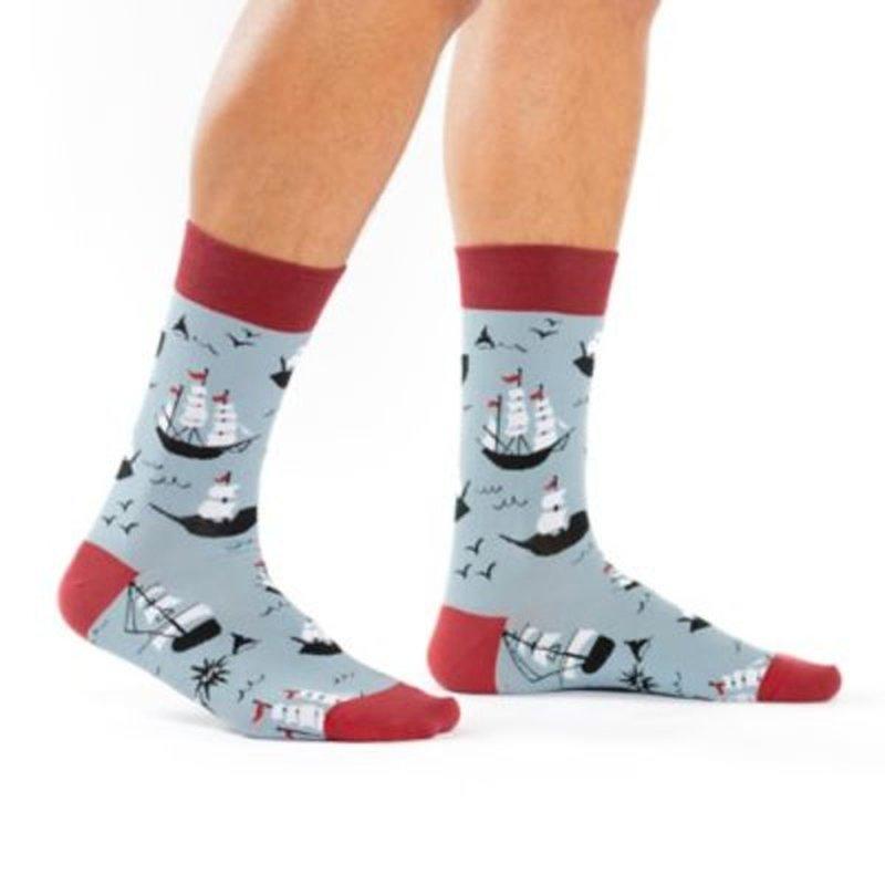 Sock It To Me Ship Shape Crew Socks