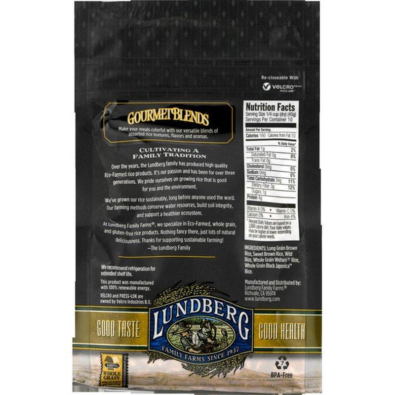 Lundberg Family Farms Rice Wild Blend 16 Oz Instacart