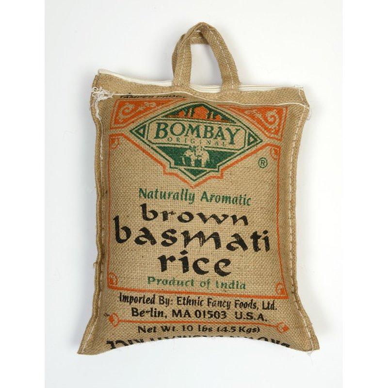 Bombay Rice, Brown Basmati