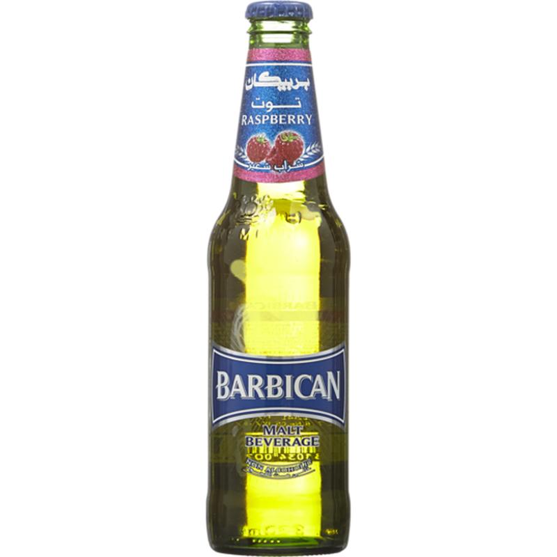 Barbican Raspberry Flavor Malt Beverage