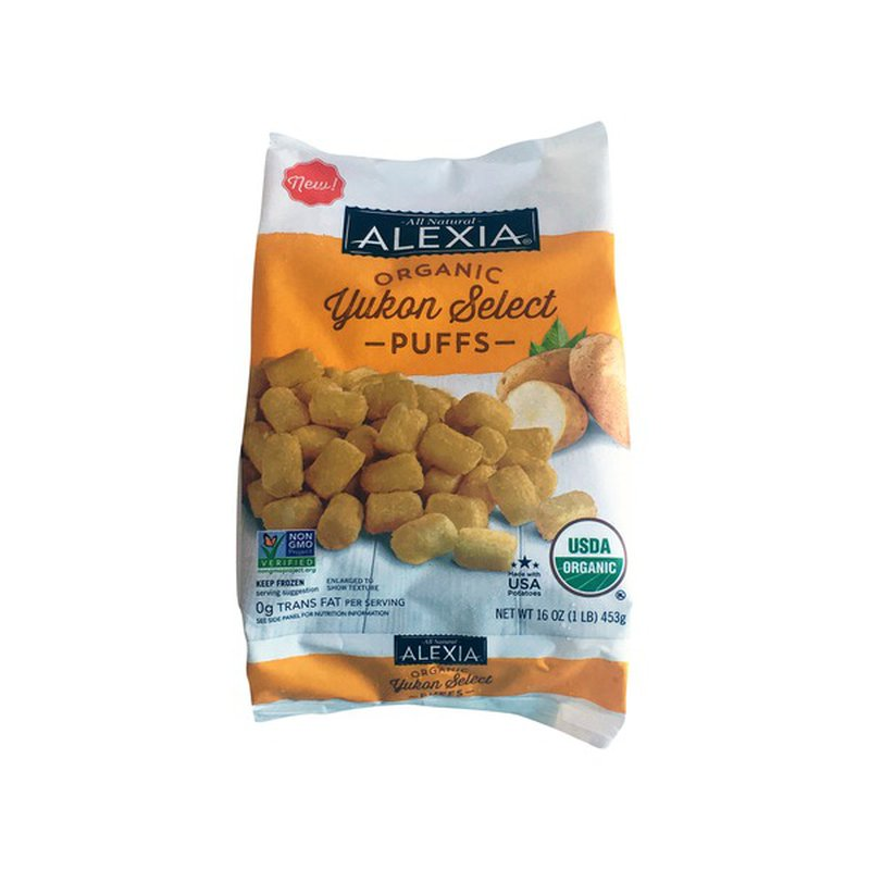 Alexia Puffs, Yukon Select, Organic