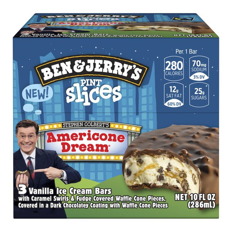 Ben Jerry S Pint Slices Americone Dream 3 33 Fl Oz Instacart 54,040 likes · 3,636 talking about this · 39,394 were here. ben jerry s