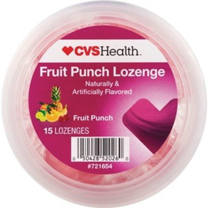 CVS Health Lozenge, Fruit Punch