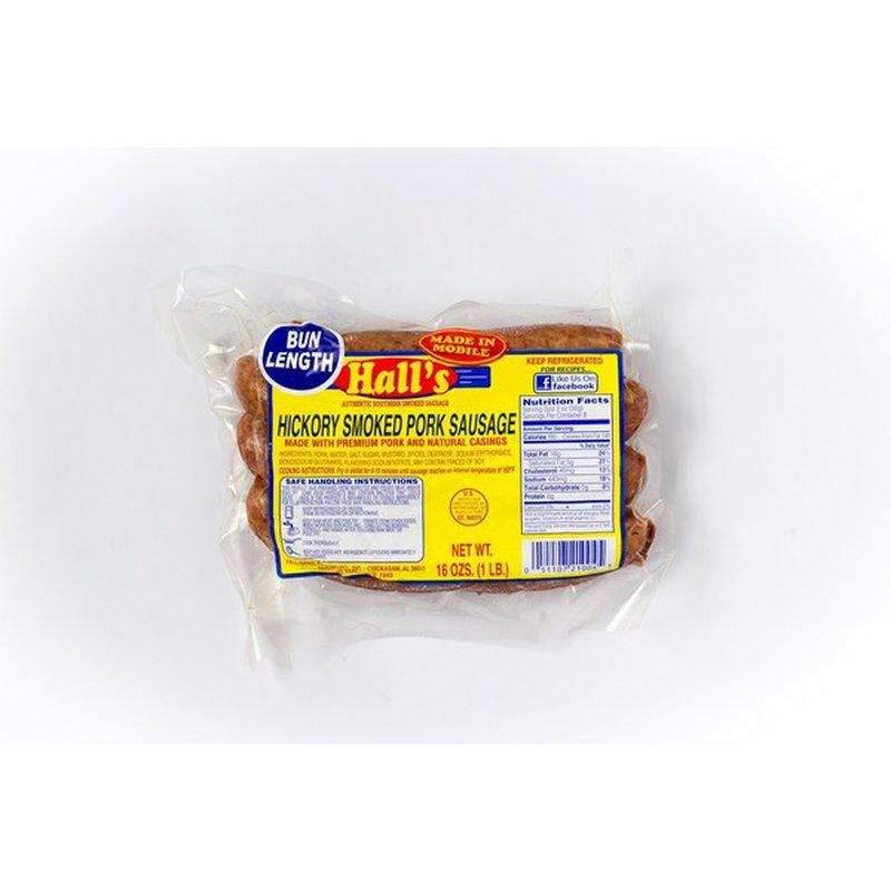 Hall's Smoked Sausage