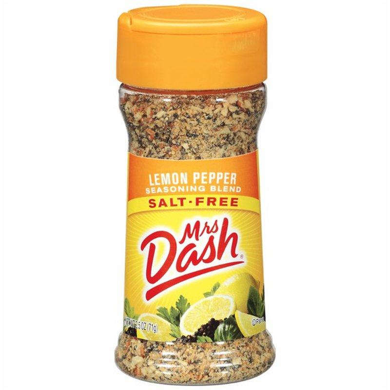 Dash Salt-Free Lemon Pepper Seasoning Blend
