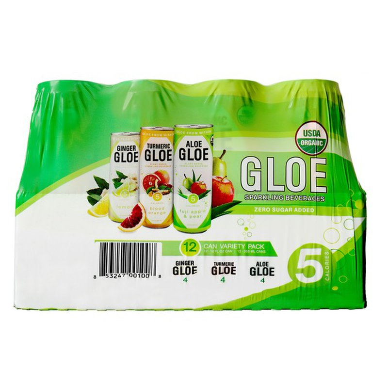 Aloe Gloe Sparkling Water
