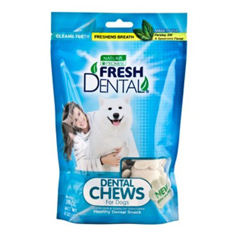 Nature's Promise Fresh Dental Chews For Dogs