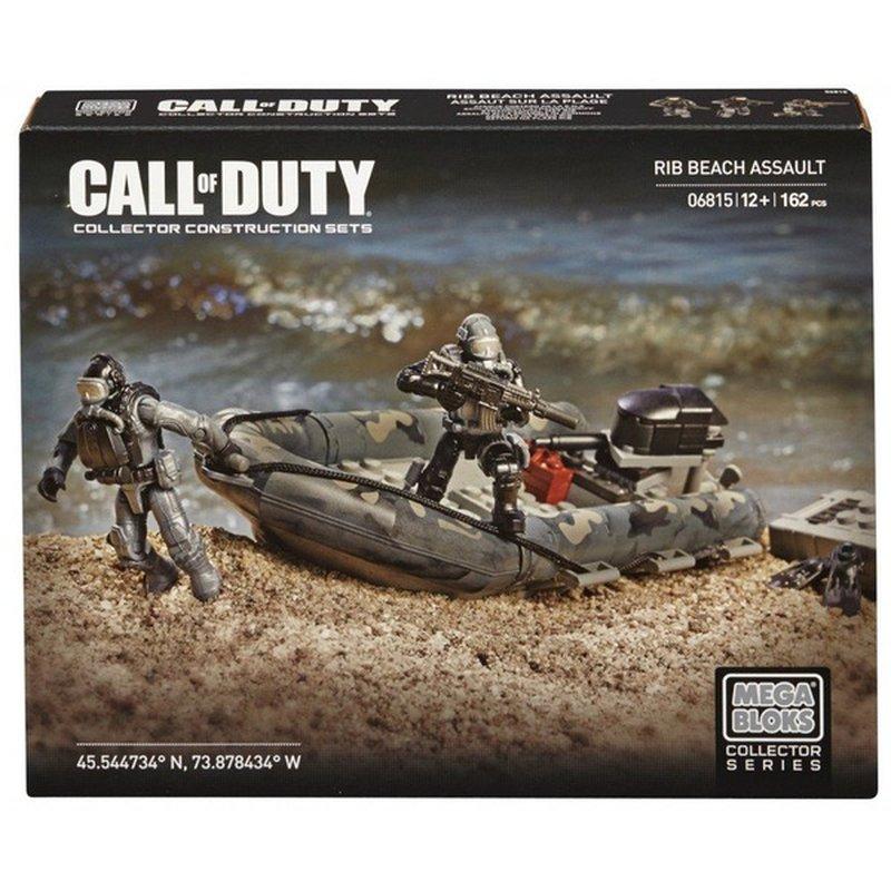Mega Bloks Call Of Duty Rib Beach Assault