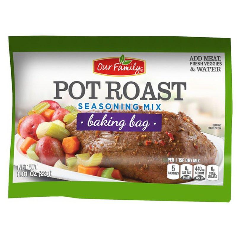 Our Family Pot Roast Seasoning Roasting Bag