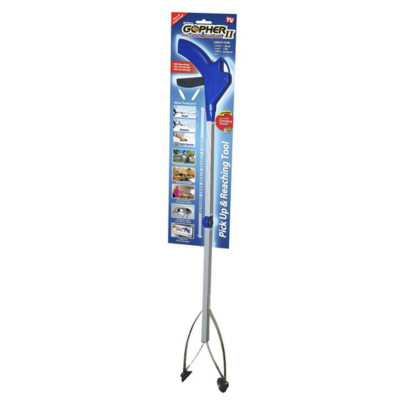 """As Seen on TV 37"""" X 4.1"""" X 6.3"""" Deluxe Gopher II Pick Up & Reaching Tool"""