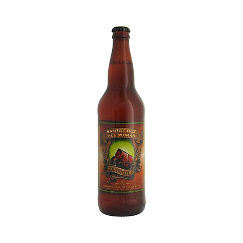 Santa Cruz Ale Works Hefeweizen Ale Beer