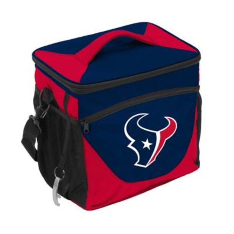 Logo Brands Houston Texans Football Logo 24-Can Cooler
