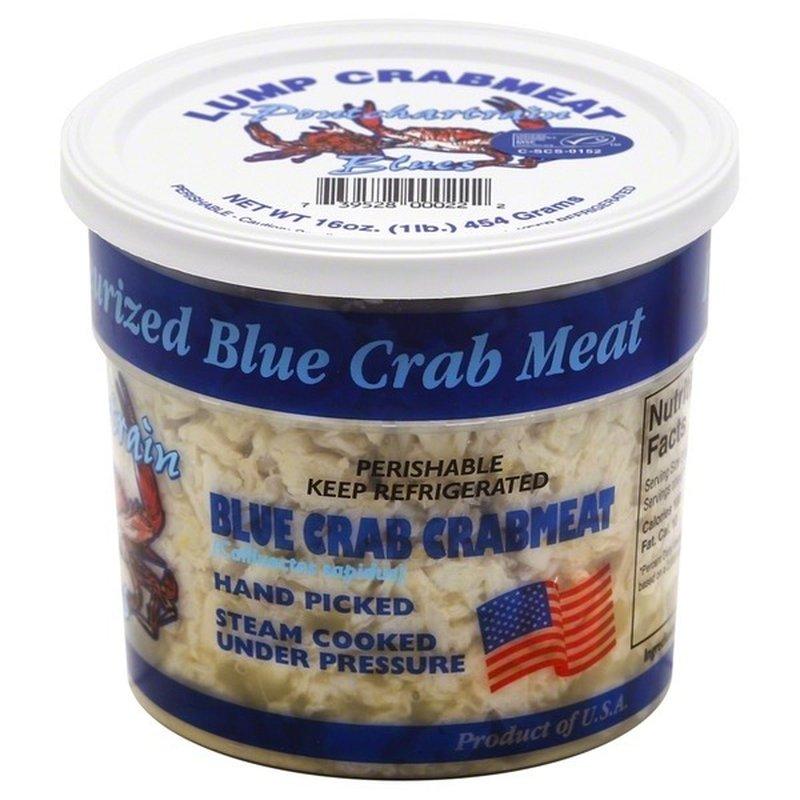 Pontchartrain Blue Crab, Inc. Blue Crab Crabmeat