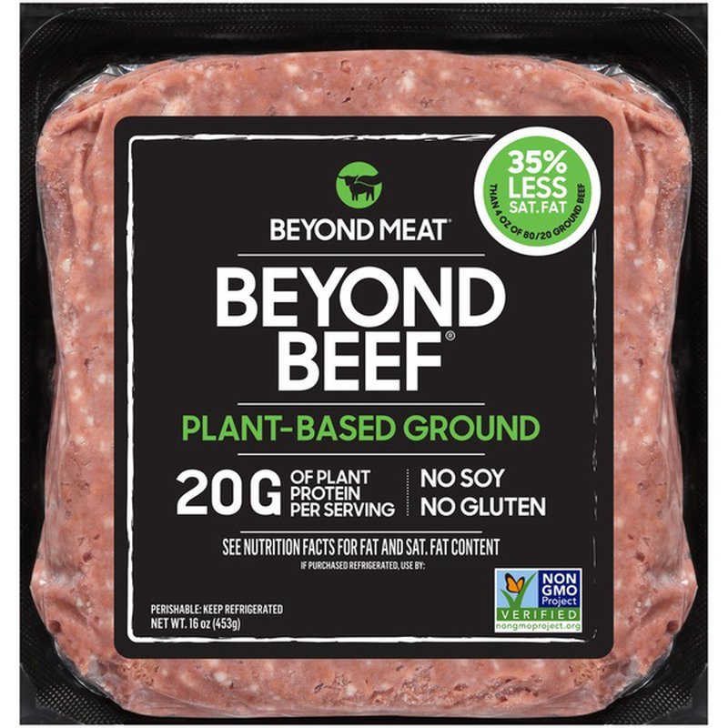 Beyond Meat Plant Based Ground Beef 16 Oz Instacart