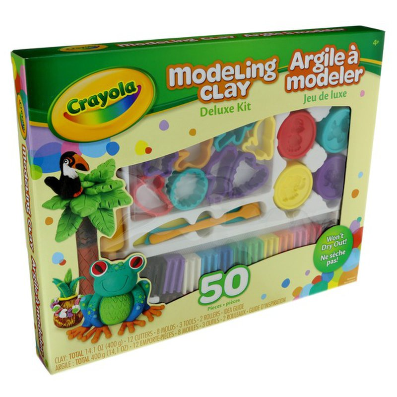 Crayola Deluxe Modeling Clay Kit