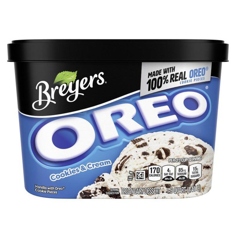 Breyer's Frozen Dairy Dessert Oreo® Cookies & Cream