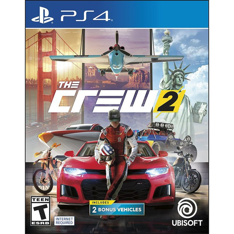 Ubisoft The Crew 2 Game for Playstation 4