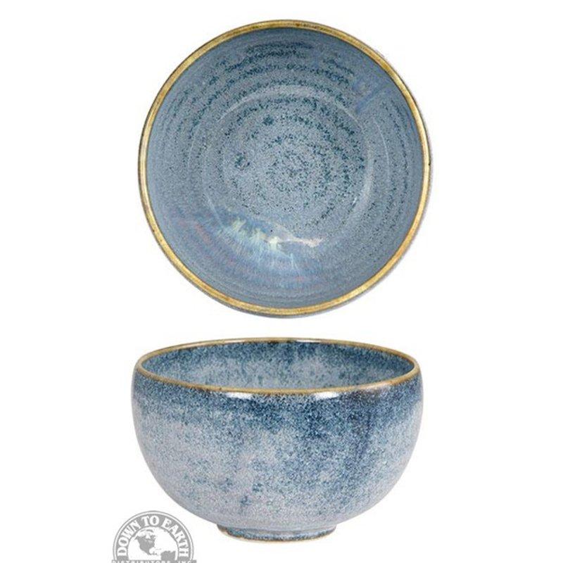 "Down To Earth Distributors Inc. 5"" Round Dishes Glassware & Bakeware Ceramic Bowl"
