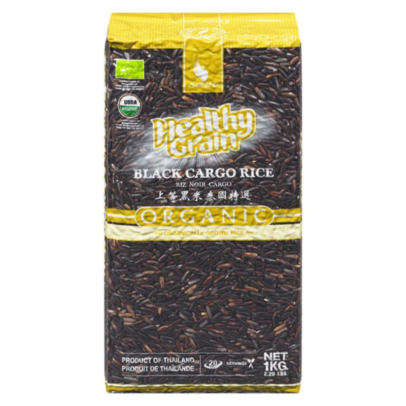 Sawat-D Healthy Grain Organic Black Cargo Riceberries